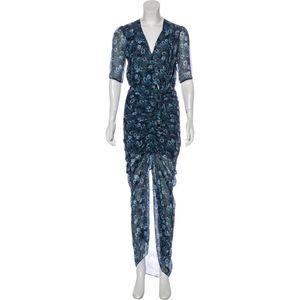 VERONICA BEARD Silk Dress Size: XS   US 2 Blue